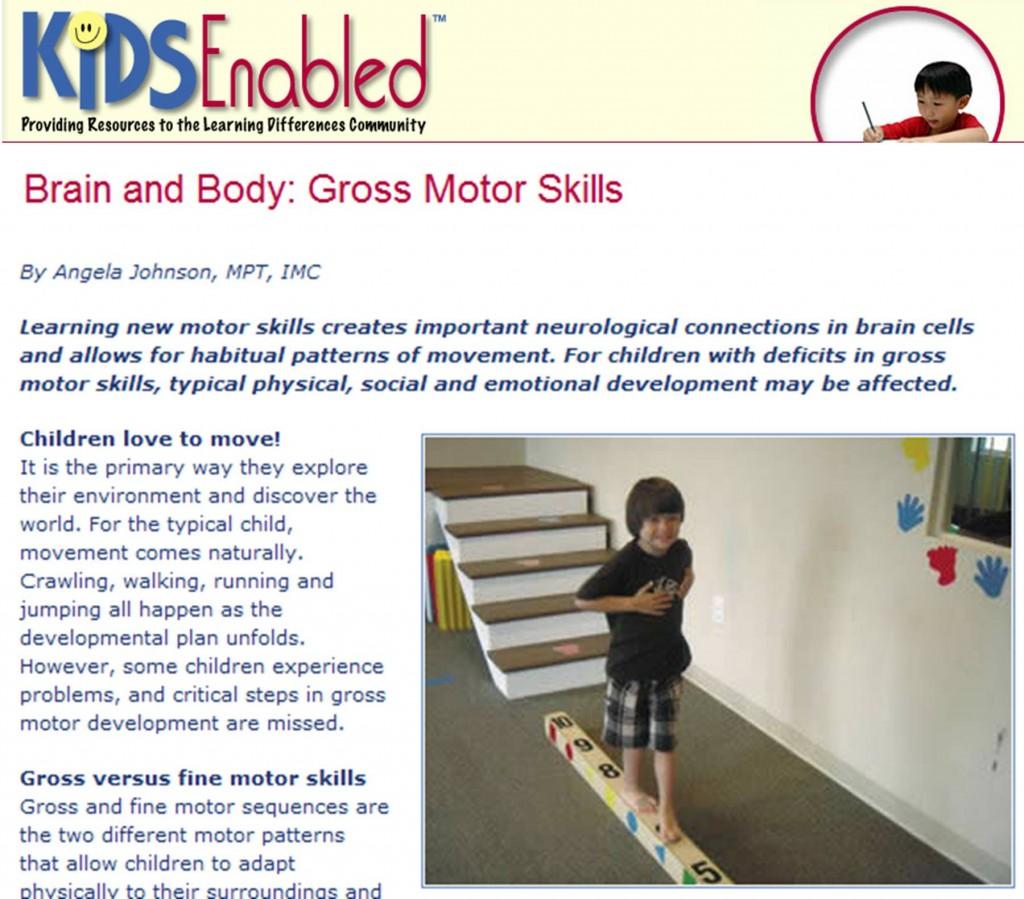 Bhinternet blog for Fine and gross motor skills activities